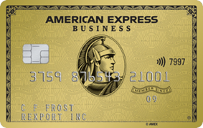 The American Express Business Gold Card