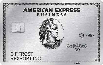 The American Express Business Platinum Card